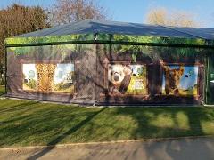 Expograph Jardin d'Acclimatation Bâches pavillon